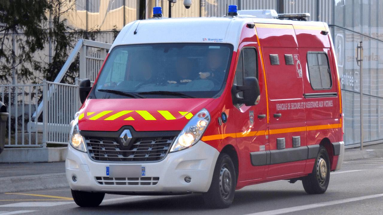 VASV French Pompiers Ambulance